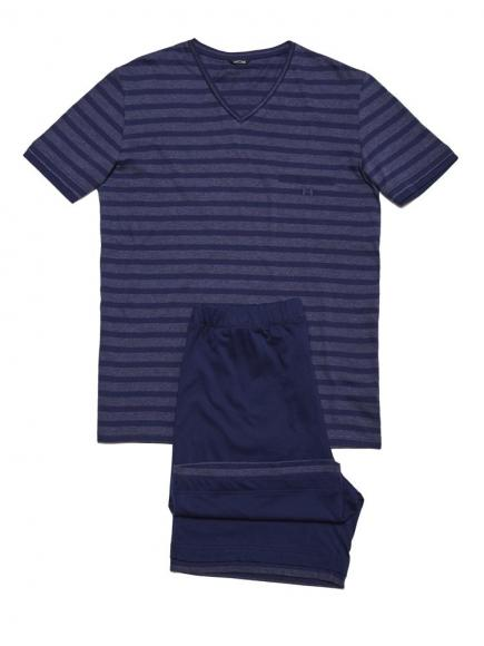 HOM Charismatic - Short Sleepwear Blauw