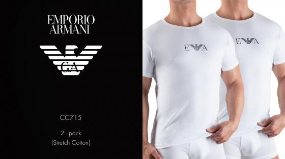 Emporio Armani 2p T-shirt - CC715
