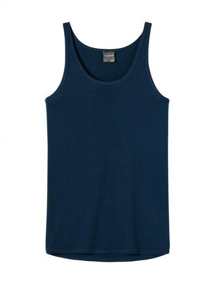 Schiesser Original Feinripp - Hemd Blauw