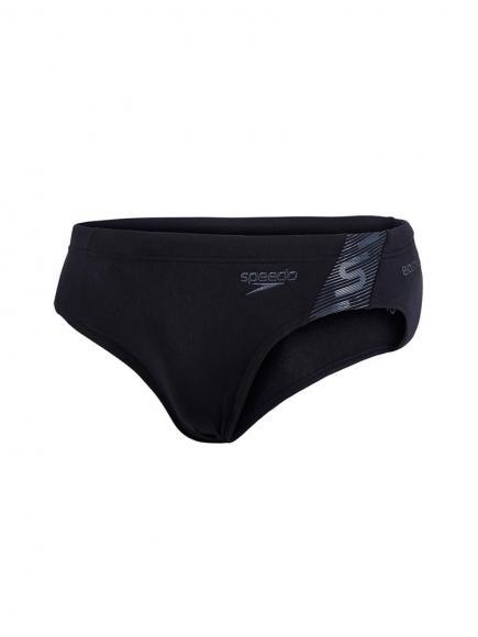 Speedo Monogram 7cm Zwemslip E+ Zwart