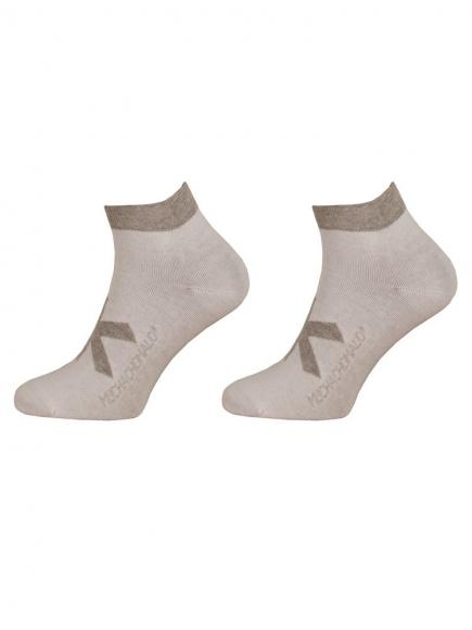 MuchachoMalo 2-pack Socks Short Wit