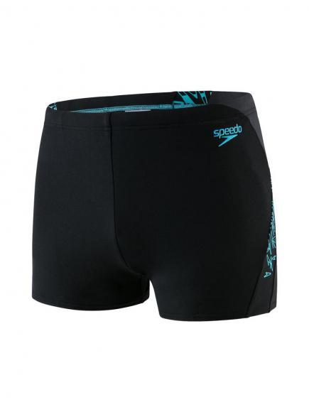 Speedo END Boom Splice Aquashort Blauw/Zwart