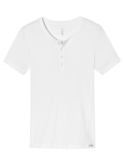 Schiesser Long Life Cool Shirt 1/2 Wit