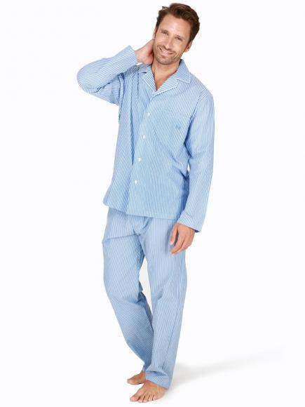 HOM Long Woven Sleepwear - Normandy
