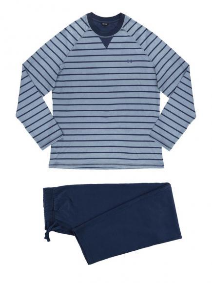 HOM Long Sleepwear - Edouard Blauw