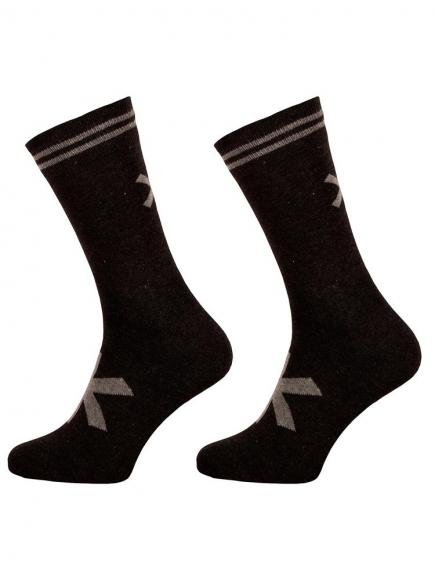 MuchachoMalo 2-pack Socks Long Zwart