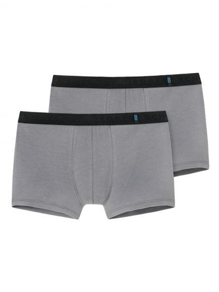 Schiesser 95/5 Shorts 2PACK Grijs