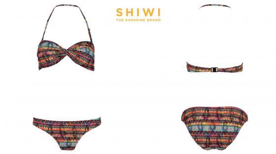 Shiwi Bikini Bandeau Flame
