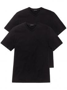 Schiesser 2-pack American T-Shirt V-neck