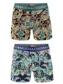 MuchachoMalo Boys 2-pack short print paradise