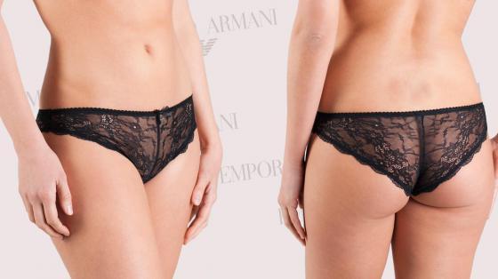 Emporio Armani Classic Seduction Lace Brazillian