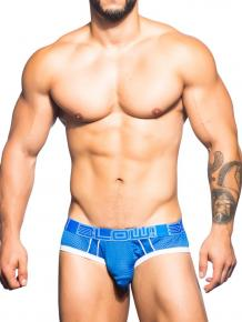 Andrew Christian BLOW! Mesh Brief w/ Almost Naked