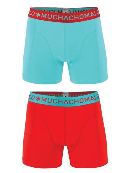 MuchachoMalo Shorts 2-pack Blauw/Rood