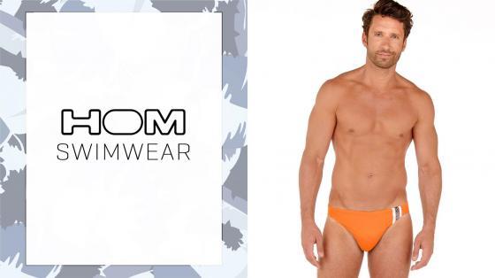 HOM Swim Micro Briefs - Alize - Orange