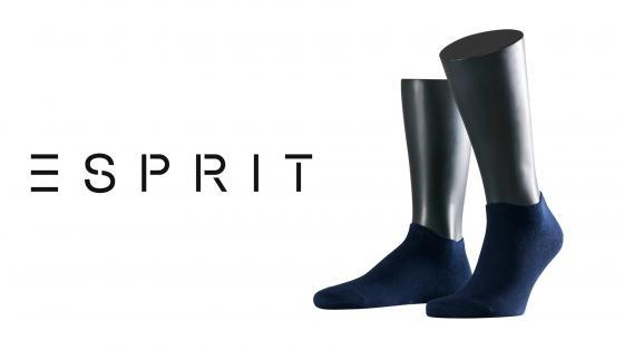 Esprit Basic Sneaker Socks 2-PACK
