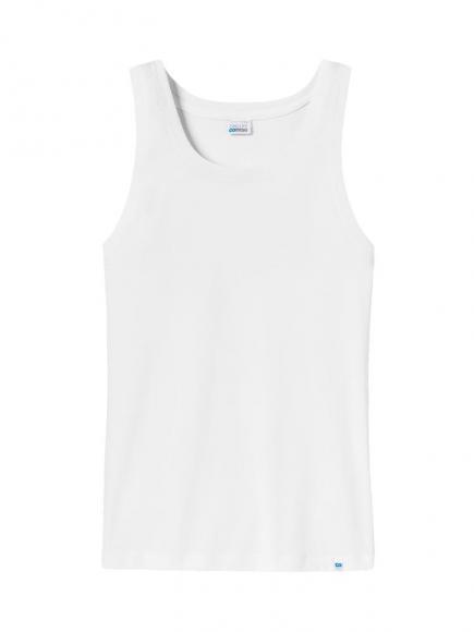 Schiesser Long Life Cotton - Shirt 0/0 Wit