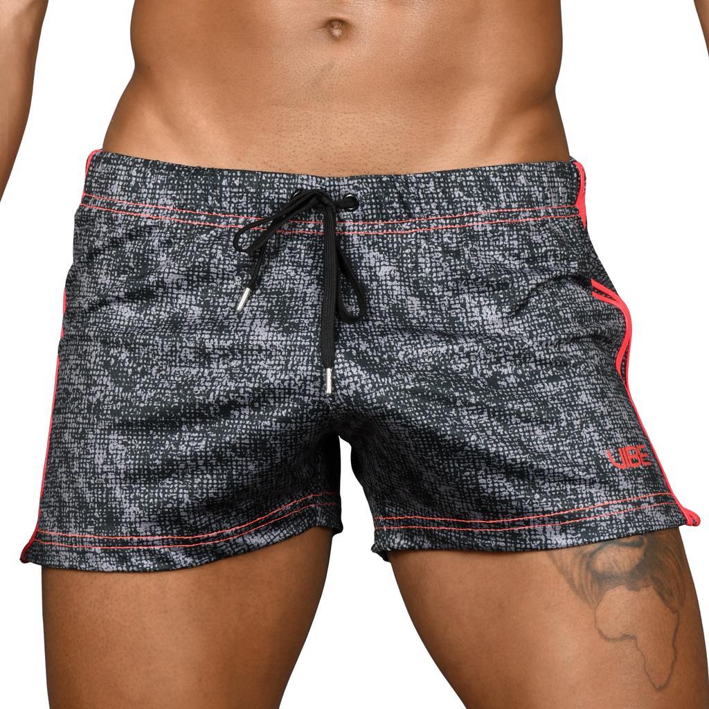 Andrew Christian Vibe Impressions - Jogger Shorts