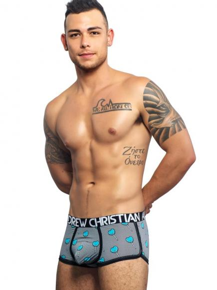 Andrew Christian Suck-it Boxer suck-it print