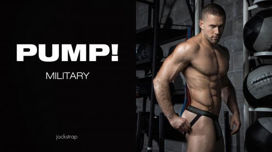PUMP! Free-Fit Jock - Military