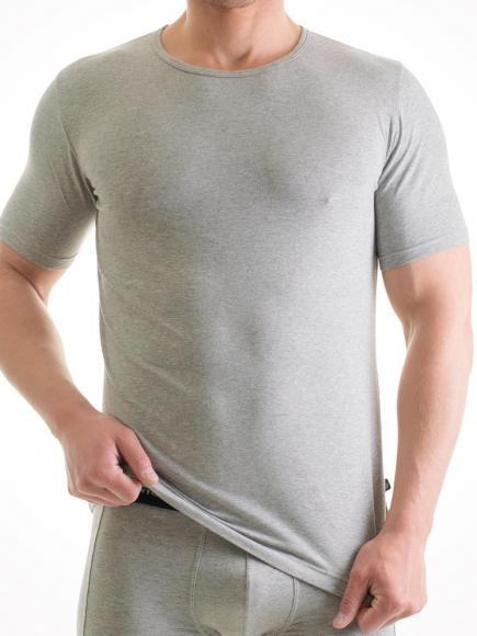 Punto Blanco Basix T-Shirt Ronde hals Grijs