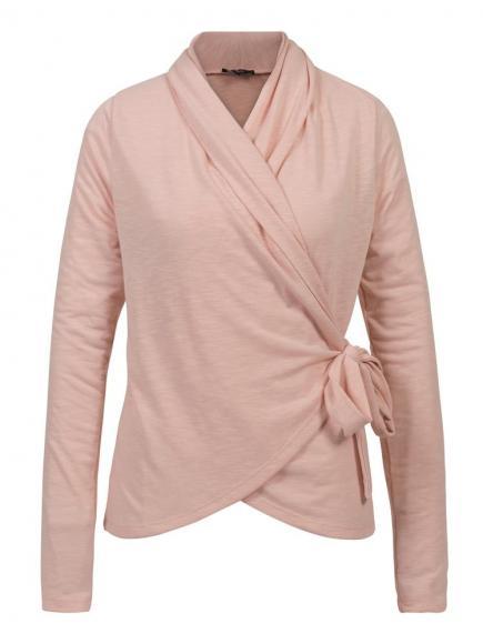 Sapph Snug Cardigan Wrap Roze