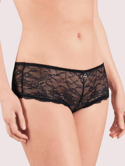 Emporio Armani Classic Seduction Lace Short Zwart