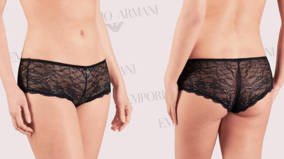 Emporio Armani Classic Seduction Lace Short