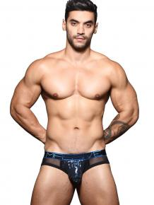 Andrew Christian MASSIVE Night Leopard Brief