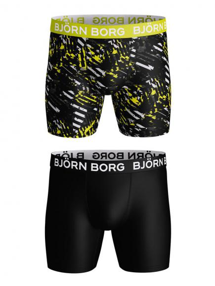 Bj�rn Borg Performance Shorts 2p evening primerose
