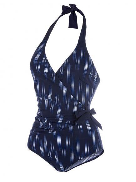 Speedo Sculpture Simplyglow Swimsuit Blauw