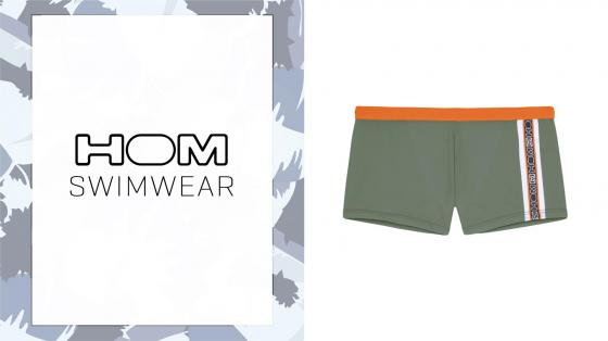 HOM Swim Shorts - Alize - Khaki