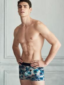 HOM Boxer Briefs - Aqua Flower