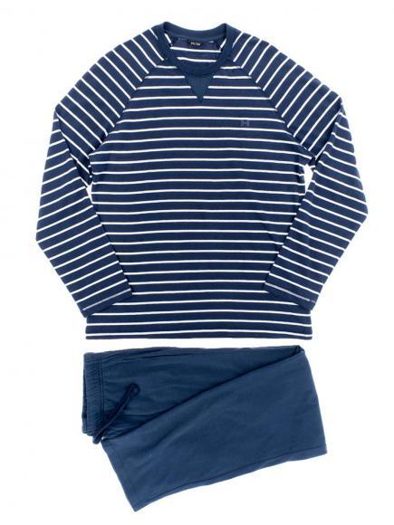 HOM Long Sleepwear - Matelot Blauw