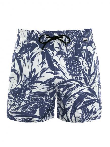 HOM Nicaragua Beach Boxer Blauw