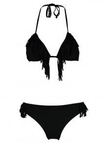 Shiwi Bikini Triangle Fringe