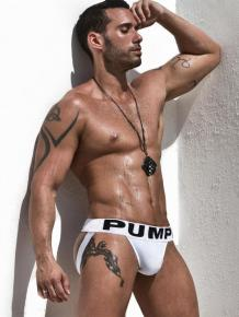 PUMP! Jock - White