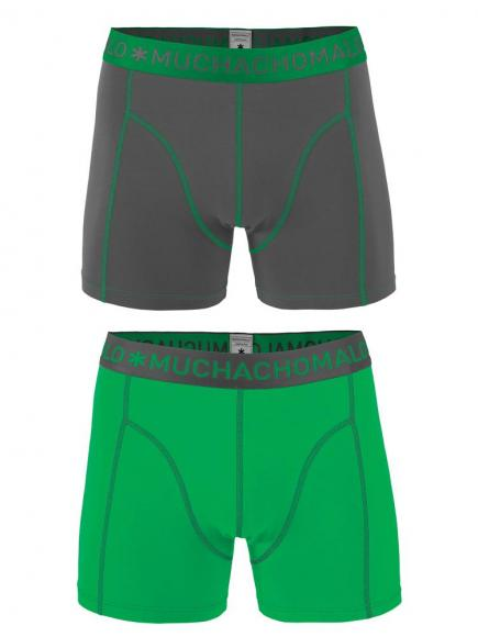 MuchachoMalo Shorts 2-pack Groen/Grijs