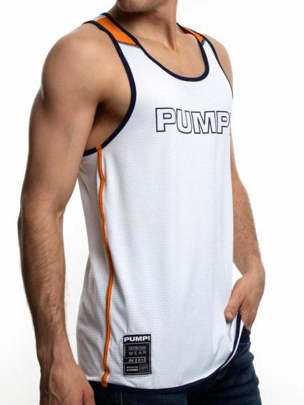 PUMP! Varsity Tank multi-color