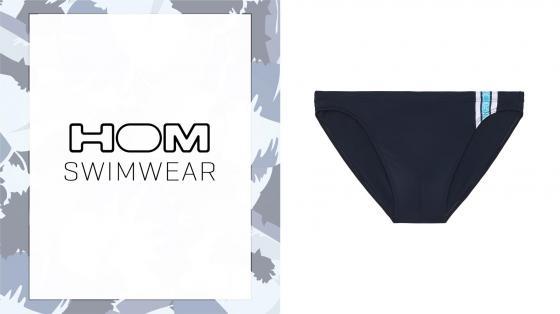 HOM Swim Micro Briefs - Alize - navy