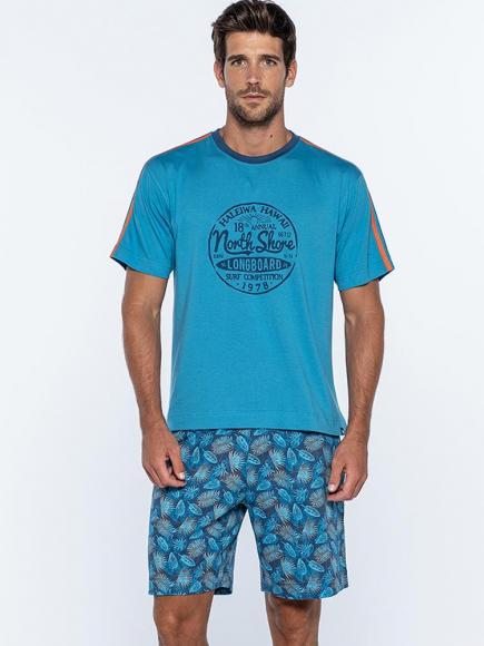 Punto Blanco Pyjama - Longboard Blauw