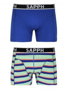 Sapph 2p Cotton Shorts - James
