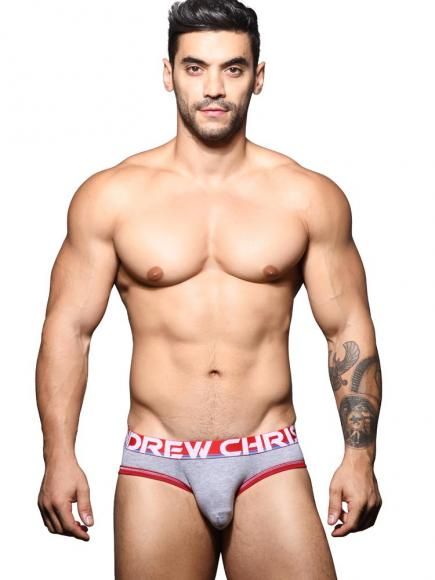 Andrew Christian Almost Naked Cotton - Brief Grijs