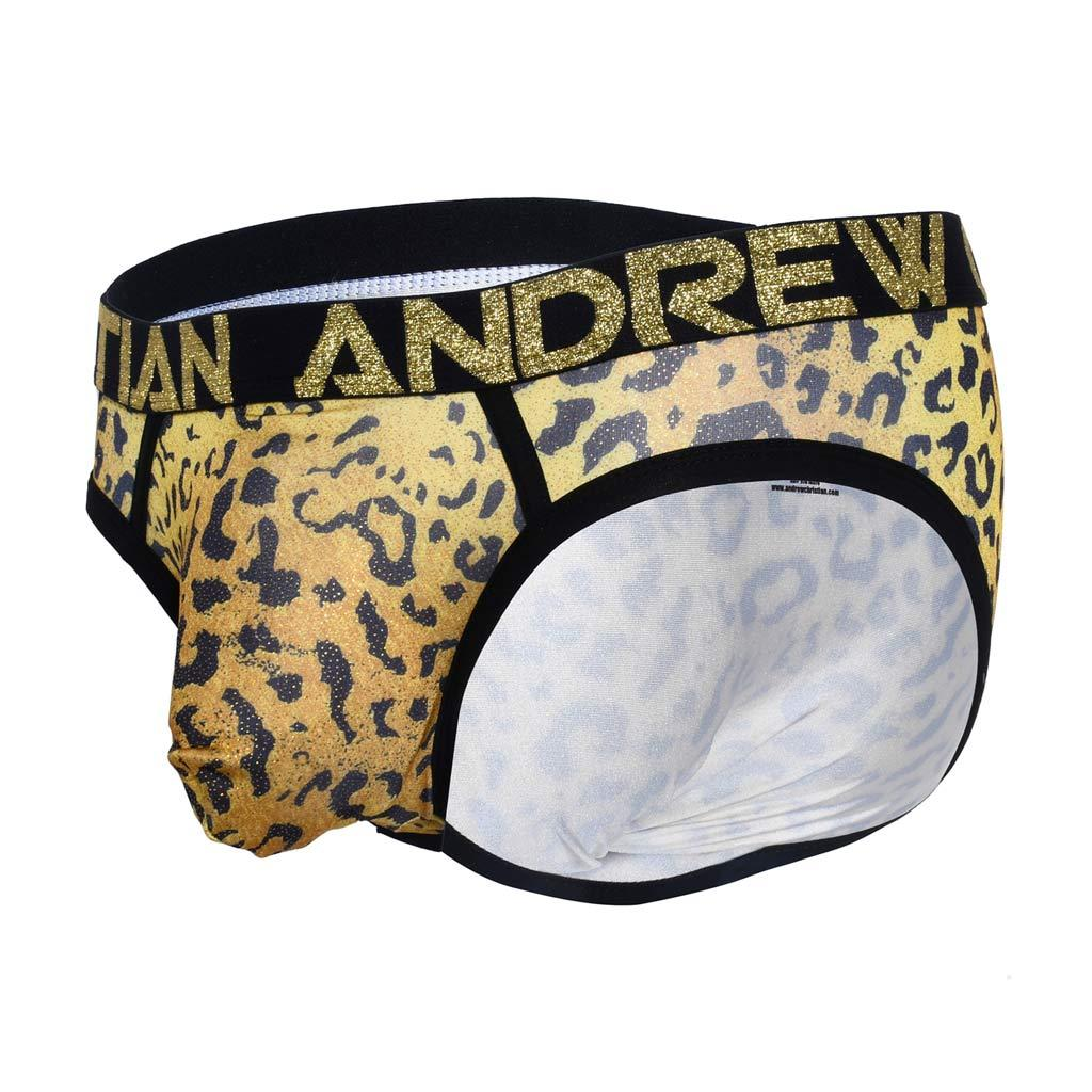 Andrew Christian Brief - Glam Leopard
