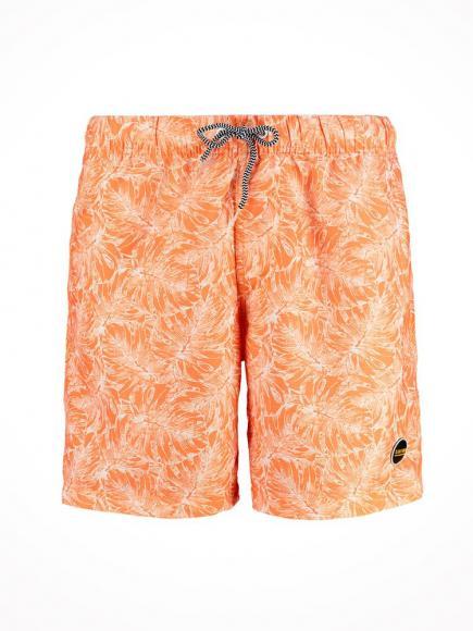 Shiwi Zwemshort 2-tone Leaves Oranje