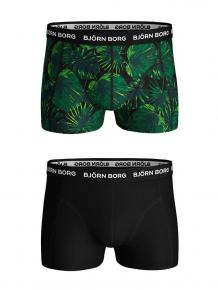 Björn Borg Ess. Cotton Shorts 2-pack