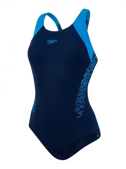 Speedo END Boom Splice Racerback Blauw