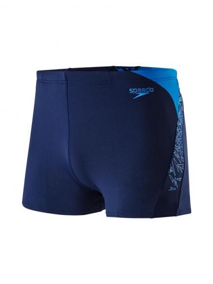Speedo END Boom Splice Aquashort Blauw