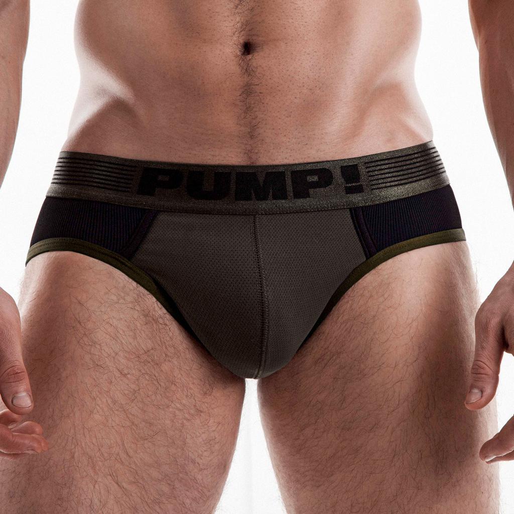 PUMP! Brief - Ribbed Military