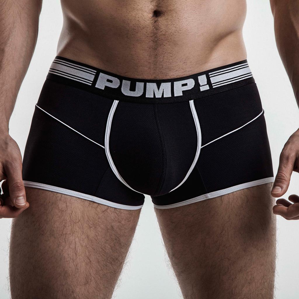 PUMP! Free-Fit Boxer - Black