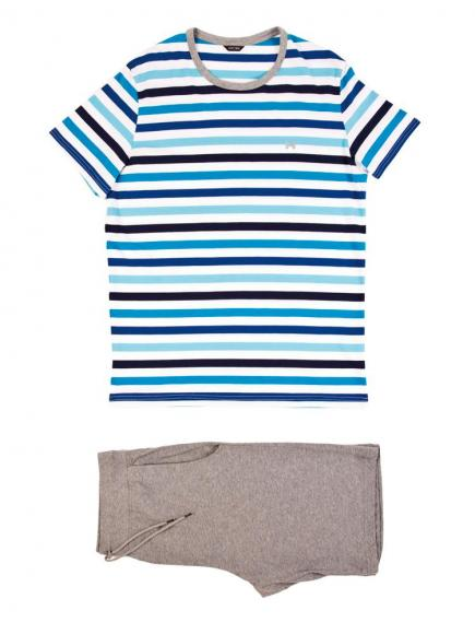 HOM Salsa - Short Sleepwear Blauw